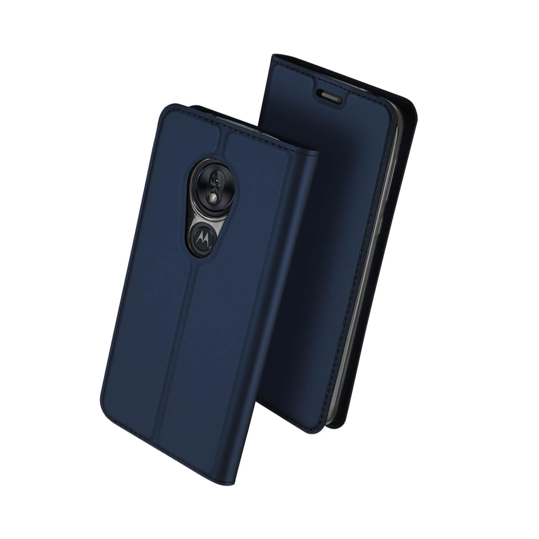 DUX Peňaženkové pouzdro Motorola Moto G7 Play modré