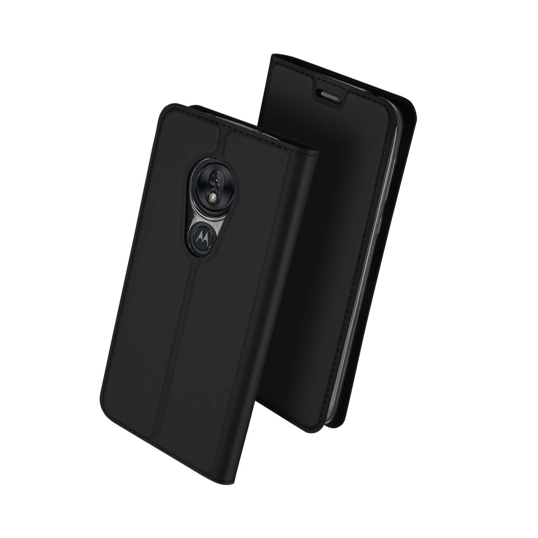 DUX Peňaženkové pouzdro Motorola Moto G7 Play černé