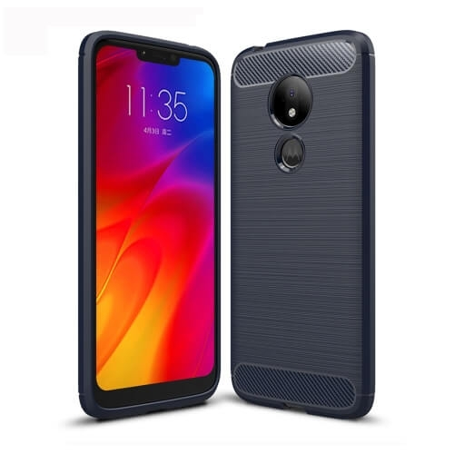FORCELL FLEXI TPU Kryt Motorola Moto G7 Power modrý