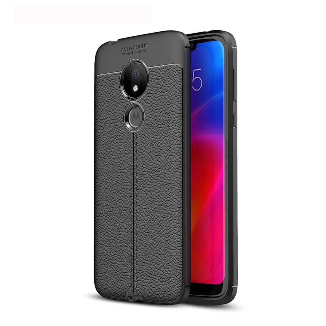 FORCELL PATTERN TPU kryt Motorola Moto G7 Power černý