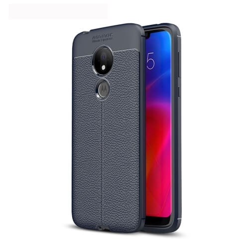 FORCELL PATTERN TPU kryt Motorola Moto G7 Power modrý