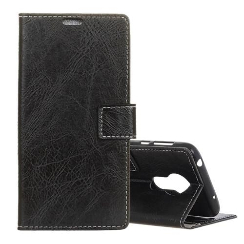 FORCELL RETRO Peňaženkový obal Motorola Moto G7 Power černý
