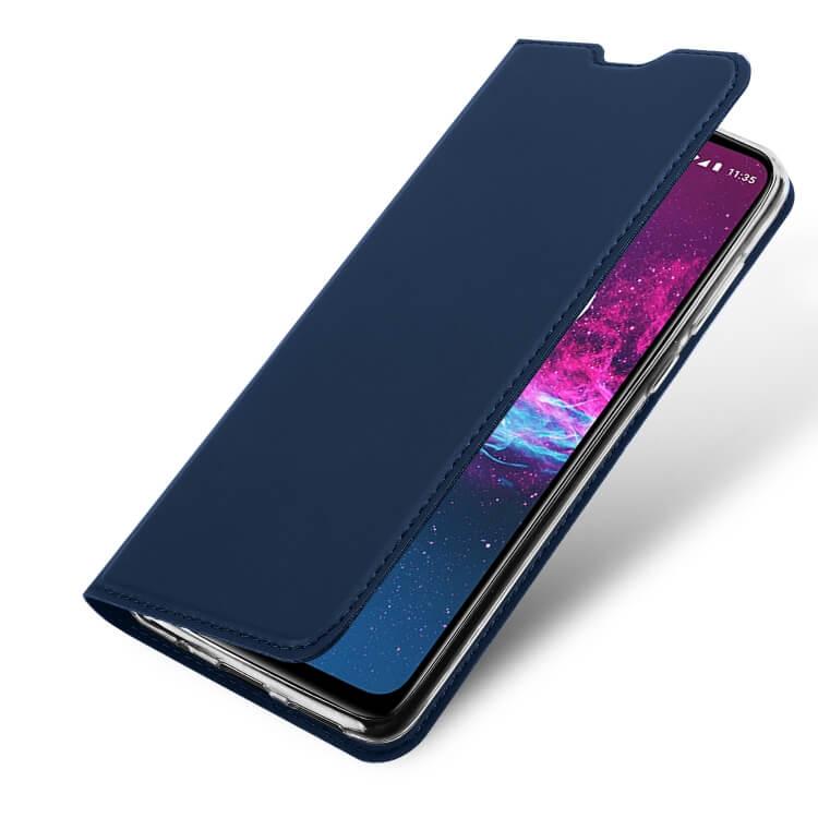 DUX Peňaženkové pouzdro Motorola One Action modré