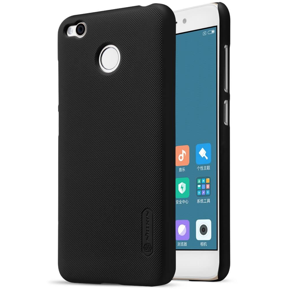 NILLKIN FROSTED + ochranná fólie Xiaomi Redmi 4X černý