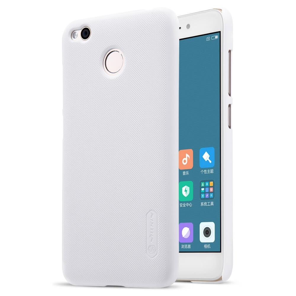 NILLKIN FROSTED + ochranná fólie Xiaomi Redmi 4X bílý