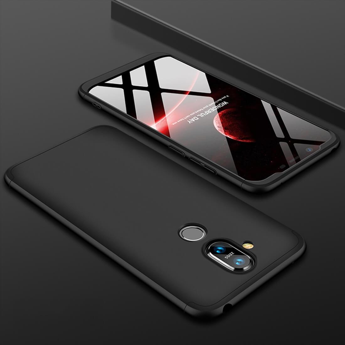 FORCELL 360 ° ochranný kryt Nokia 8.1 černý