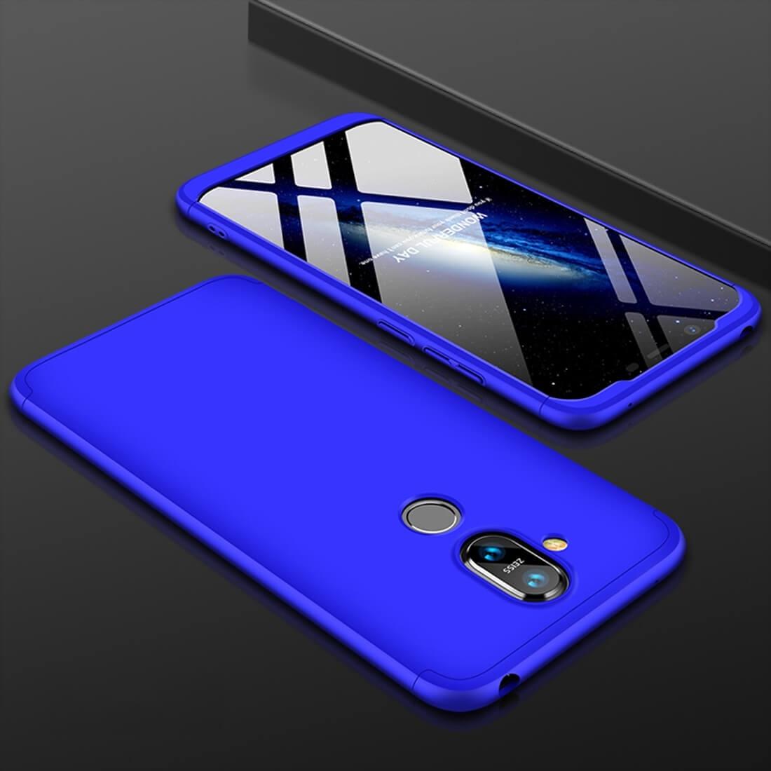 FORCELL 360 ° ochranný kryt Nokia 8.1 modrý