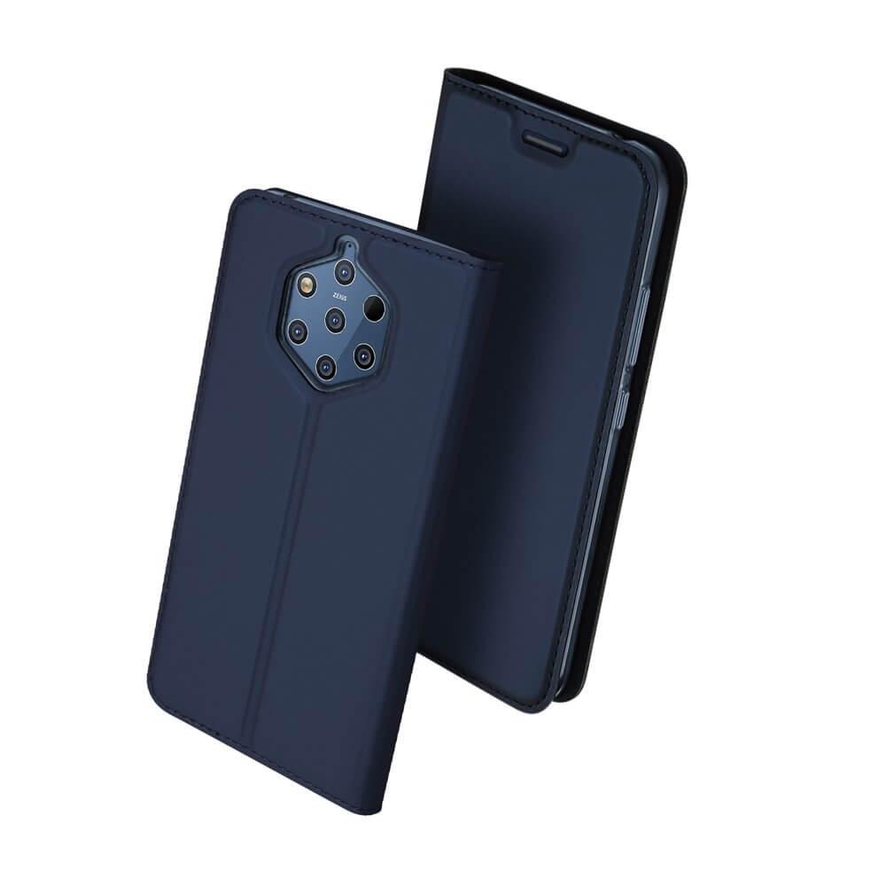 DUX Peňaženkový obal Nokia 9 PureView modrý