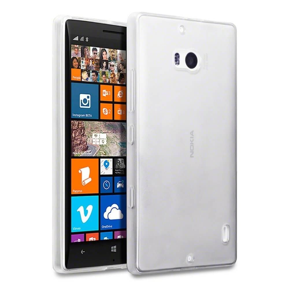FORCELL Silikonový kryt Nokia Lumia 930 průhledný