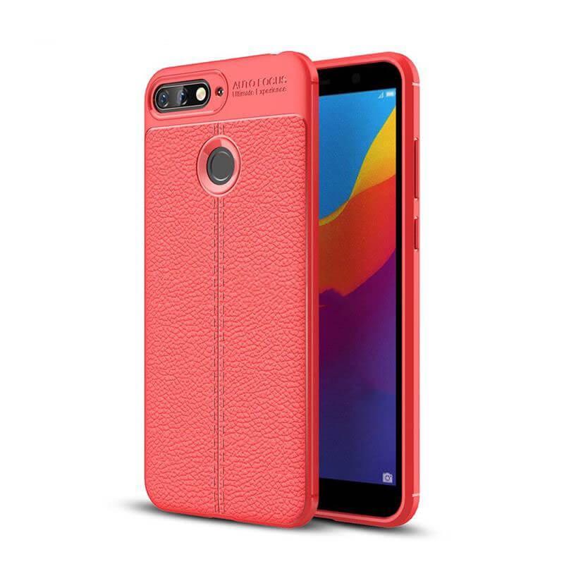 FORCELL PATTERN TPU kryt Huawei Y6 Prime 2018 červený