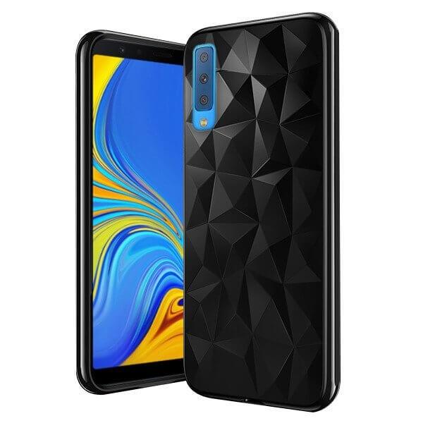 FORCELL PRISM SERIES TPU kryt Samsung Galaxy A7 2018 (A750) čierny