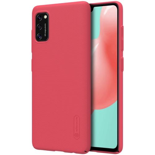 NILLKIN FROSTED Samsung Galaxy A41 červený
