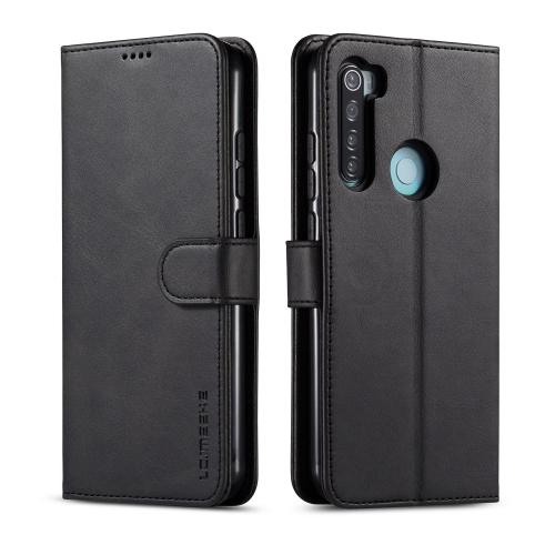 IMEEKE Peňaženkový kryt Xiaomi Redmi Note 8T černý