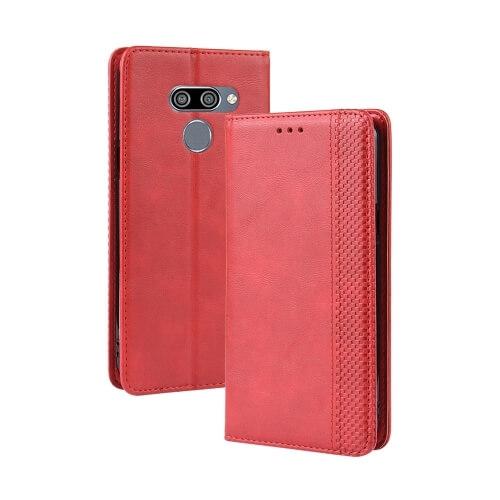 FORCELL BUSINESS Peňaženkový obal LG Q60 / LG K50 červený