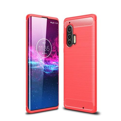 FORCELL FLEXI TPU Kryt Motorola Edge Plus červený