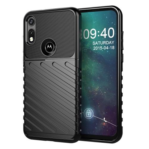 FORCELL THUNDER Ochranný kryt Motorola Moto E (2020) černý
