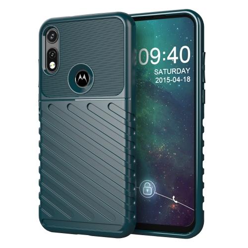 FORCELL THUNDER Ochranný kryt Motorola Moto E (2020) zelený