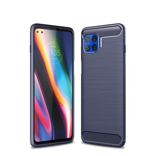 FORCELL FLEXI TPU Kryt Motorola Moto G 5G Plus modrý