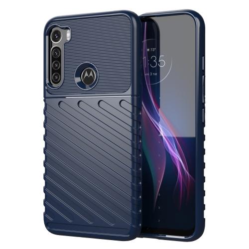 FORCELL THUNDER Ochranný kryt Motorola One Fusion+ modrý