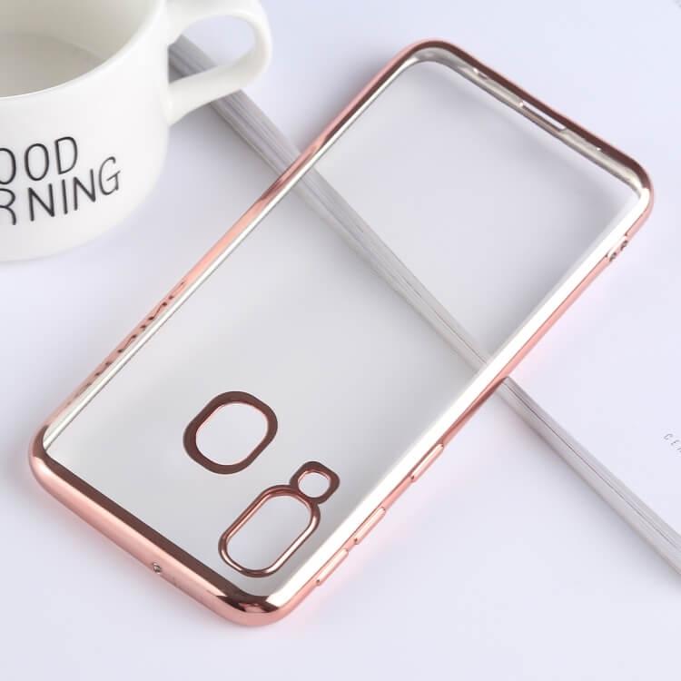 FORCELL METALLIC Silikónový kryt Samsung Galaxy A40 ružový