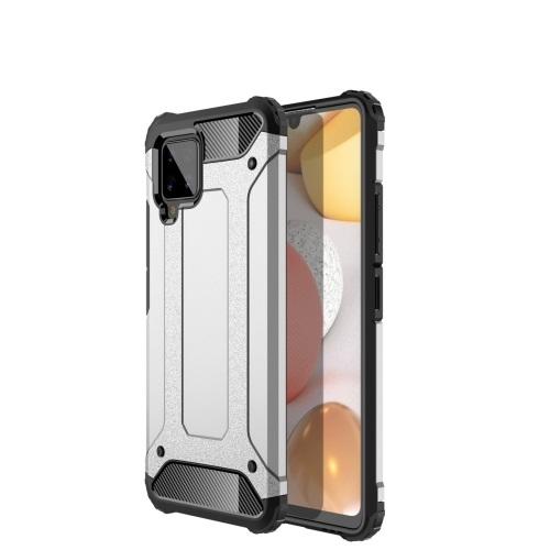 Levně FORCELL TOUGH Ochranný kryt Samsung Galaxy A42 5G stříbrný