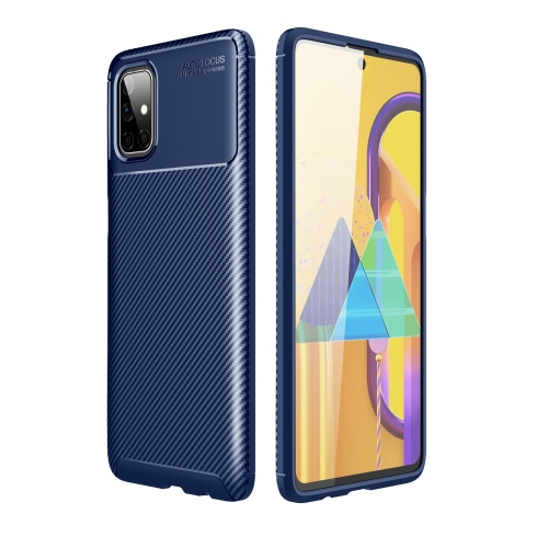 FORCELL BEETLE TPU obal Samsung Galaxy M51 modrý