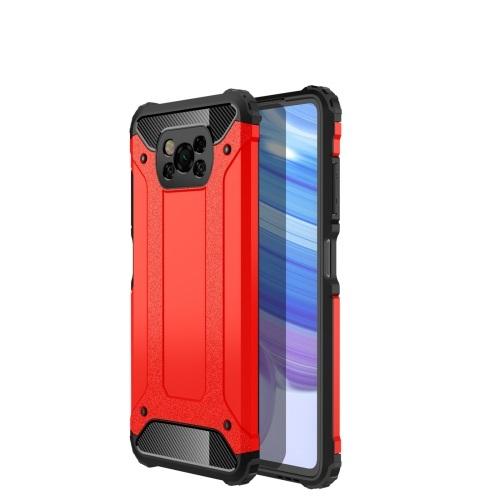 FORCELL TOUGH Ochranný kryt Xiaomi Poco X3 NFC červený