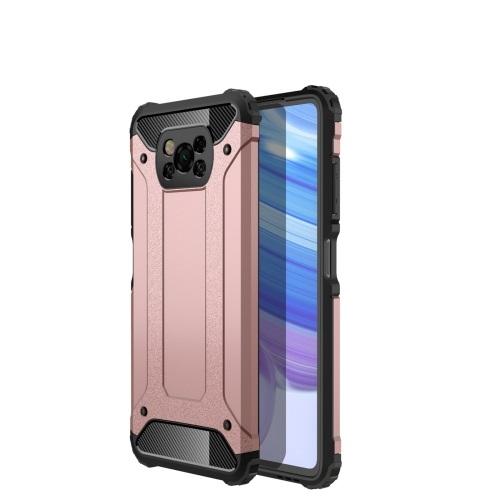 FORCELL TOUGH Ochranný kryt Xiaomi Poco X3 NFC růžový