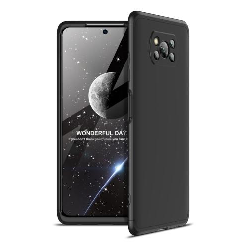 FORCELL 360 ° Ochranný kryt Xiaomi Poco X3 NFC černý