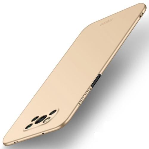 MOFI Ultra tenký obal Xiaomi Poco X3 NFC zlatý