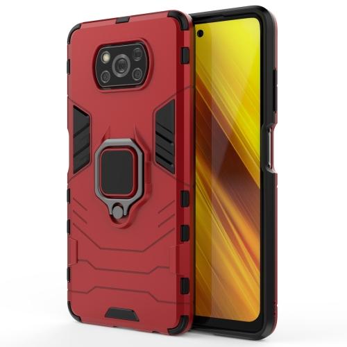 FORCELL STRONG Ochranný kryt Xiaomi Poco X3 NFC červený