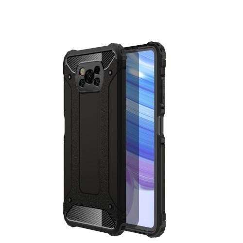 FORCELL TOUGH Ochranný kryt Xiaomi Poco X3 NFC černý