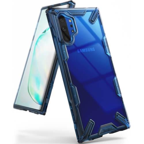 RINGKE FUSION X Samsung Galaxy Note 10+ modrý