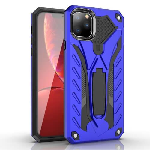 Levně FORCELL PHANTOM Extra odolný obal Apple iPhone 11 modrý