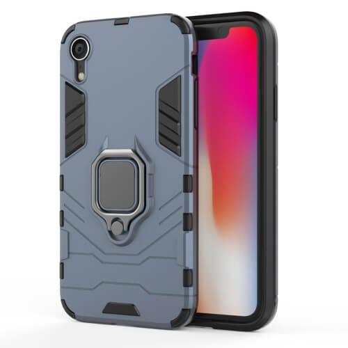 Levně FORCELL STRONG Ochranný obal Apple iPhone XR modrý