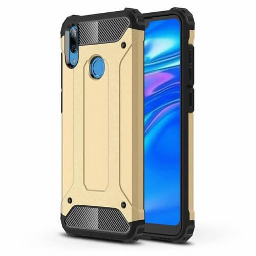 FORCELL TOUGH Ochranný kryt Huawei Y6 2019 zlatý