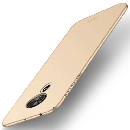 MOFI Ultratenký obal Motorola Moto E5 Play zlatý