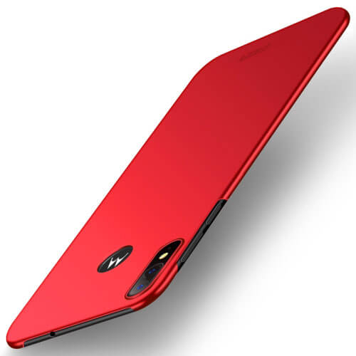 MOFI Ultratenký obal Motorola Moto E6 Plus červený