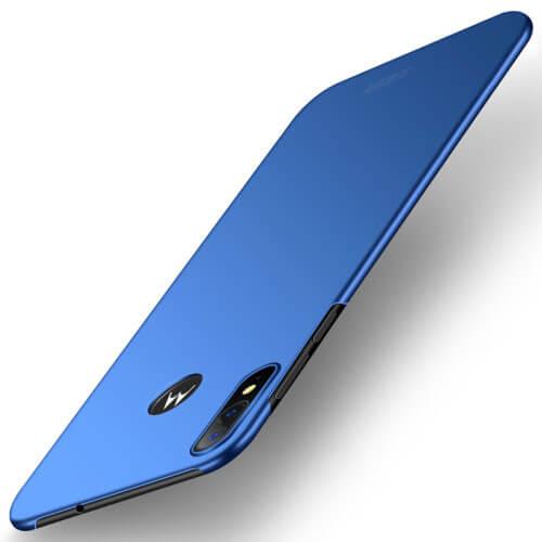 MOFI Ultratenký obal Motorola Moto E6 Plus modrý