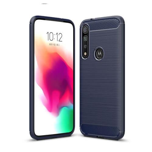 FORCELL FLEXI TPU Obal Motorola Moto G8 Plus modrý