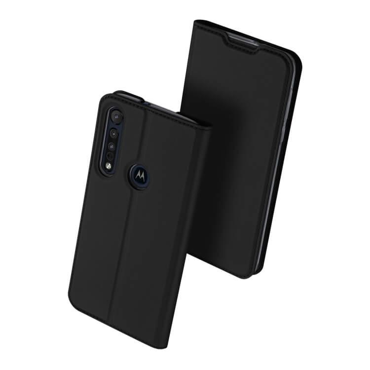 DUX Peňaženkový obal Motorola Moto G8 Plus černý