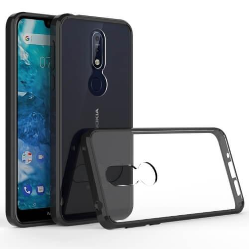 FORCELL SHOCK Odolný obal Nokia 7.1 černý