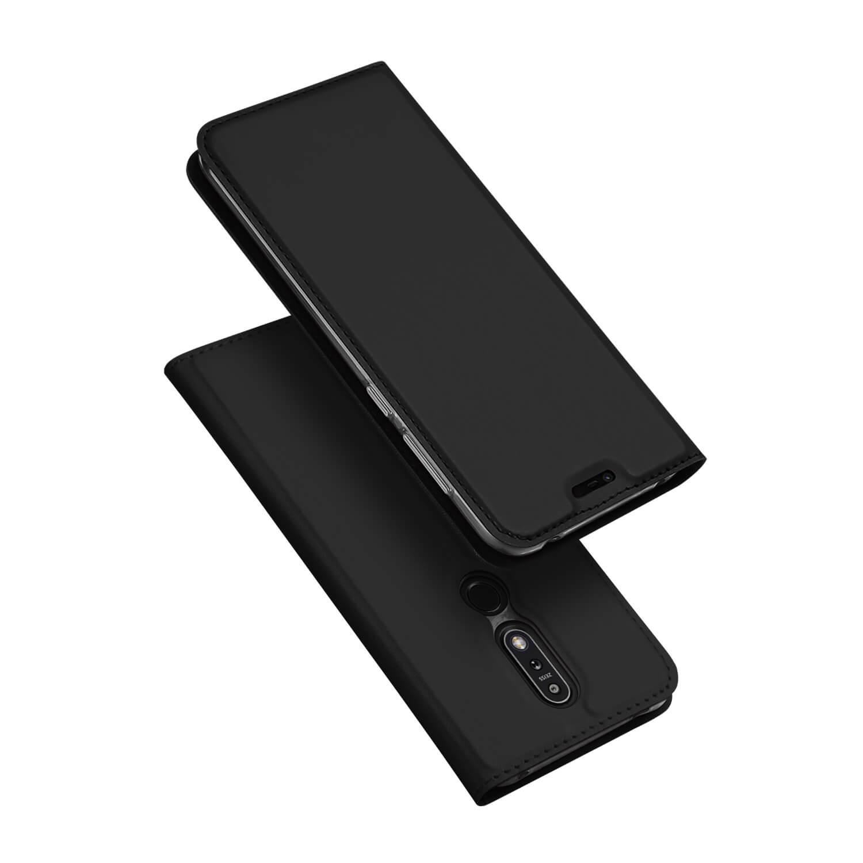 DUX Peňaženkový obal Nokia 7.1 černý