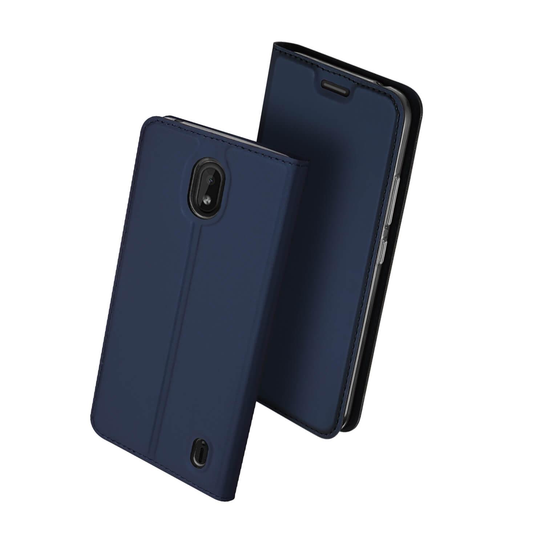 DUX Peňaženkový obal Nokia 1 Plus modrý