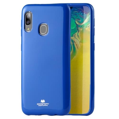 MERCURY JELLY TPU Kryt Samsung Galaxy A20e modrý