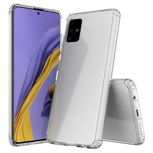 FORCELL Extra odolný kryt kryt Samsung Galaxy A51 průhledný
