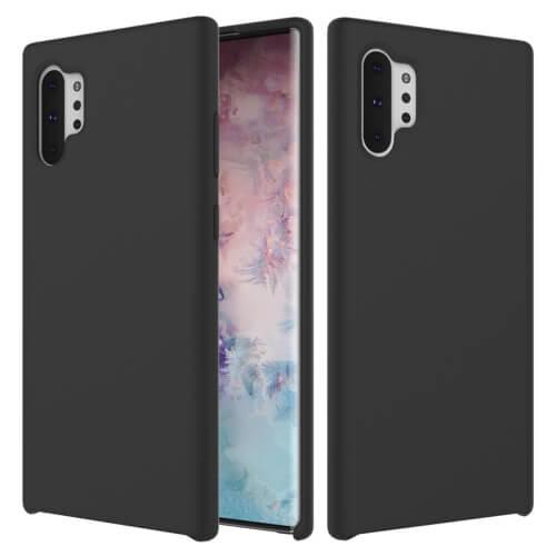 Levně FORCELL RUBBER pryžový kryt Samsung Galaxy Note 10 Plus černý
