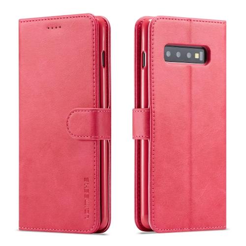 IMEEKE Peňaženkový obal Samsung Galaxy S10 Plus růžový