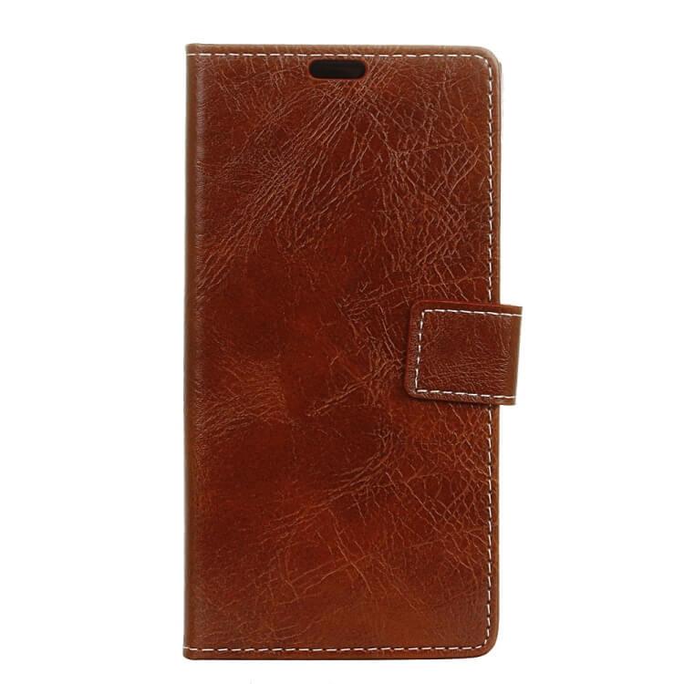 FORCELL RETRO Peňaženkový obal Sony Xperia 10 hnedý