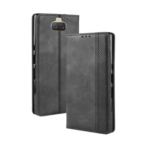 FORCELL BUSINESS Peňaženkový obal Sony Xperia 10 černý